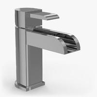 3d model faucet c3