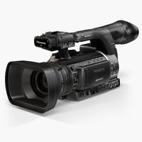 panasonic ag-ac160a avccam series 3d model