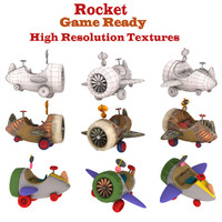 cartoon rocket max