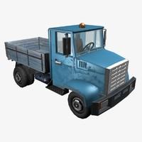 3d soviet truck zil