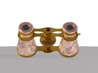 3d c4d binoculars