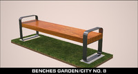 obj benches garden city