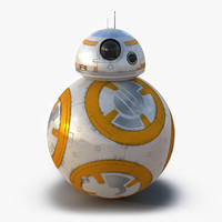 3d model star wars bb 8
