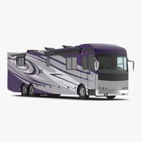 3d recreation vehicle generic simple model