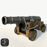 vessel cannon 3d max