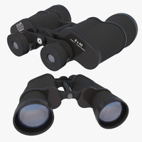 3d model of binoculars