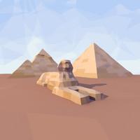 max giza sphinx pyramids
