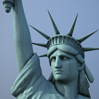 Realistic Statue of Liberty