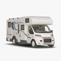 tag axle motorhome 2 3d 3ds