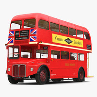 3d bus routemaster model