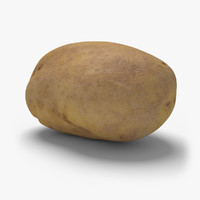 3d potato ready unreal