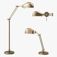 3d addison floor lamp