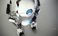 3d robot portal 2