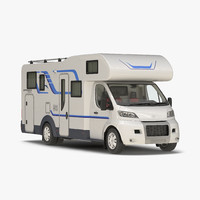tag axle motorhome simple 3ds
