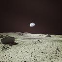 moon surface 3D models