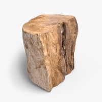 3d firewood ready unreal model