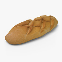 3d bread ready unreal