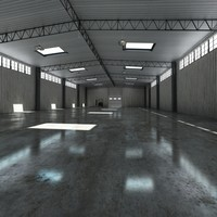 warehouse loader 3d max