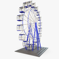 Carousel Ferris Wheel Rigged