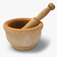 pestle ready unreal 3d model