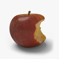 apple ready unreal 3d model