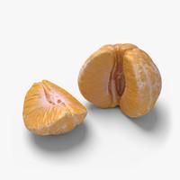 3d mandarin 03 model