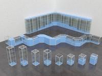 showcase 3d model
