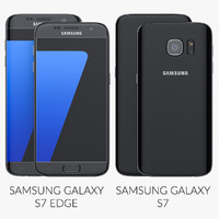 Samsung Galaxy S7 And S7 Edge Black