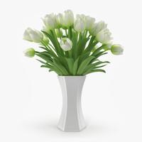 tulip vase 3d max