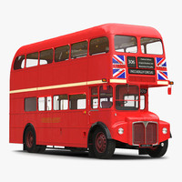 max london bus routemaster simple