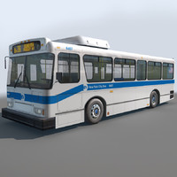 3d model res city bus