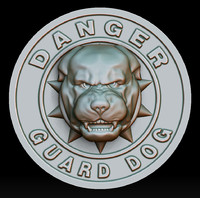 3d danger - guard dog
