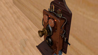 old phone steampunk 3d 3ds