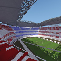 Soccer Stadium - High detail