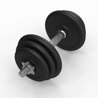 Dumbbell (Rigged)