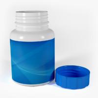 bottle plastic 3d max