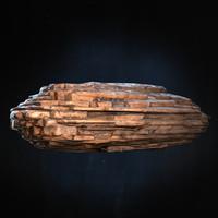 3d model rock ready