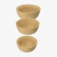 3d bamboo bowl