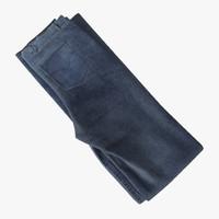 c4d folded jeans 2