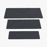 3d slate rectangular plates model