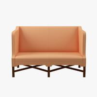 3d 3ds kk41180 sofa sides kaare klint