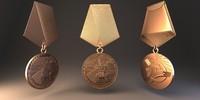 3ds soviet medal