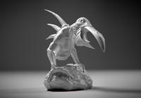 3d stl creature model