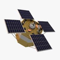 acrim satellite 3d c4d