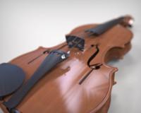 3d violin