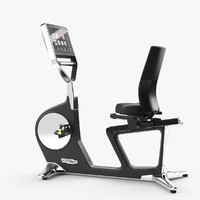 technogym bike recline 3d max