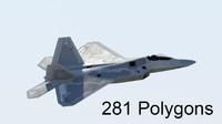 f-22 raptor 3d 3ds