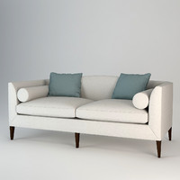 3d model of baker archetype sofa