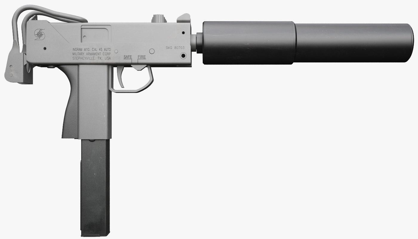 ingram sub machine gun