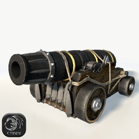3d vessel cannon